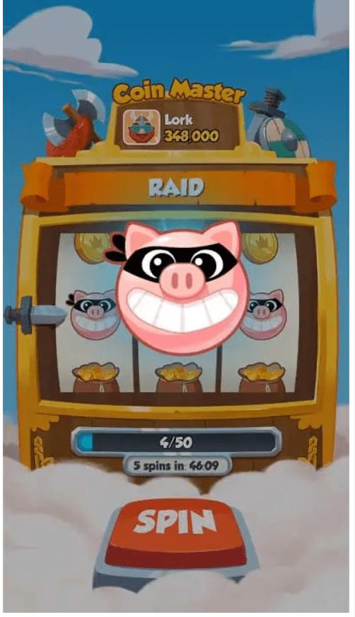 coin master raid pig