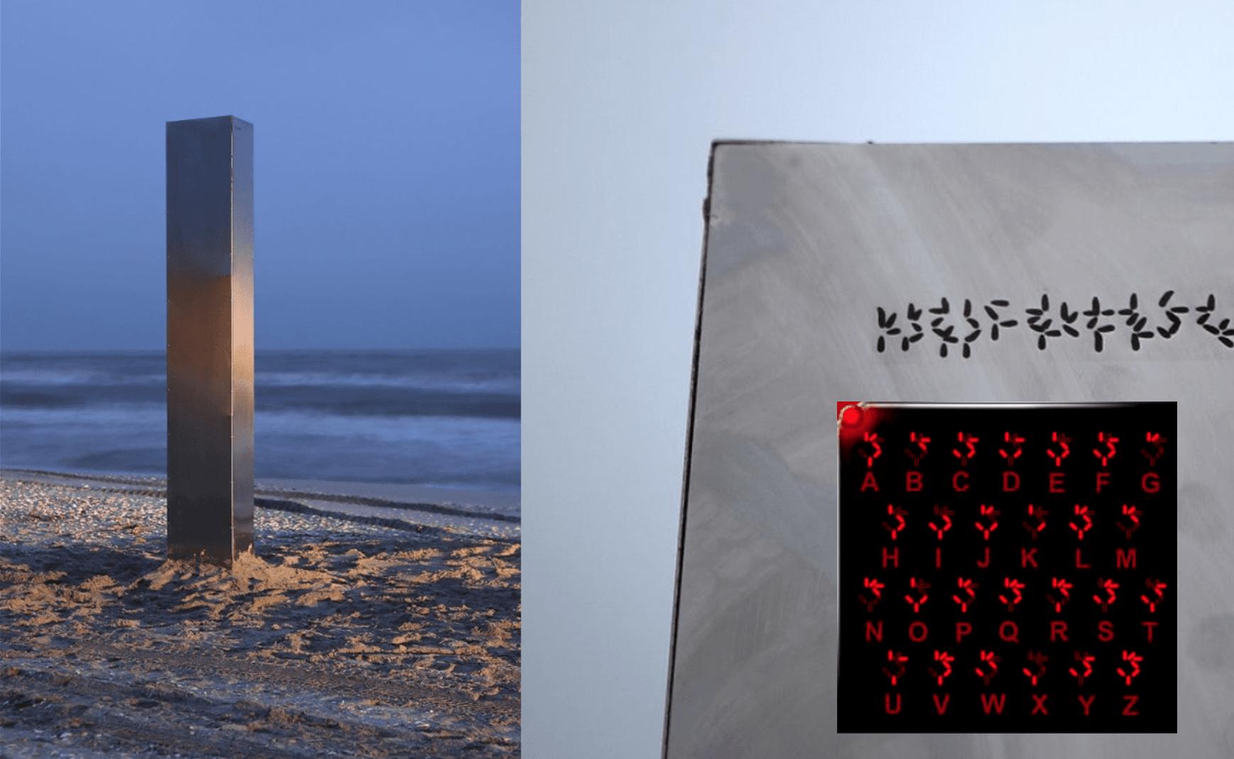Primul monolit care contine un mesaj codificat gasit in Constanta, pe plaja ( AM DESCIFRAT MESAJUL )