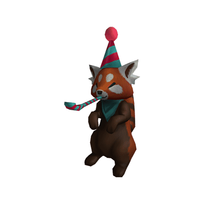 Party Red Panda